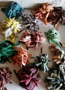 Deb Saunders_Woven Forest_Pom Poms made by Merrivale PS Students